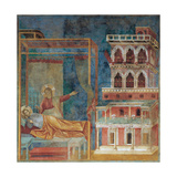 The Dream of the Palace Giclee Print by  Giotto di Bondone