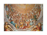The Glorification of the Most Holy Trinity Giclee Print by model of Bernardino Poccetti