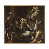 The Martyrdom of St. Matthew Giclee Print by  Caravaggio