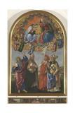 The Coronation of the Virgin with St John the Evangelist Giclee Print by Sandro Botticelli