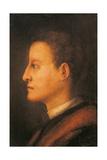 Cosimo De Medici I As a Young Man Giclée-tryk af Jacopo da Carucci Pontormo