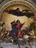 The Assumption of the Virgin Giclee Print by  Titian (Tiziano Vecelli)