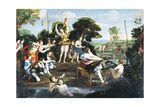Diana and Her Nymphs Giclee Print by  il Domenichino