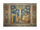 Stories of the Passion the Crucifixion Giclee Print by  Giotto di Bondone