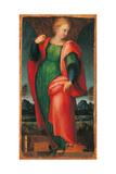 St Catherine of Alexandria Giclée-tryk af Jacopo Pontormo
