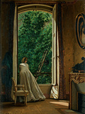 Window Overlooking the Apple Orchard Giclee Print by D'Ancona Vito