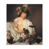 Bacchus Giclee Print by  Caravaggio