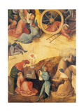 The Wagon of Hay (Hay Triptych) Giclee Print by Hieronymus Bosch