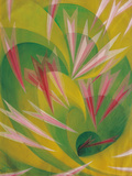 The Vortex of Life Reproduction procédé giclée par Giacomo Balla