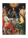 Supper at Emmaus Giclee Print by Jacopo da Carucci Pontormo