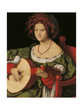 The Lute Player Giclee Print by Andrea Solario
