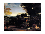 Assumption of the Virgin Giclee Print by  il Domenichino