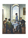 Afternoon in Fiesole Giclee Print by Bacci Baccio Maria