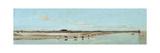 The Beach at Ofanto - Barletta (La Spiaggia Presso Ofanto - Barletta) Giclee Print by Giuseppe De Nittis