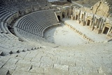 The Large South Theatre, 1st Century A.D. Photographic Print