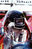 Jacky Ickx at French Grand Prix Photographic Print