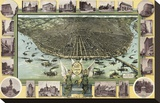 Saint Louis, Missouri in 1896 Stretched Canvas Print by  Graf