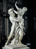 The Rape of Prosperpina Photographic Print by Bernini Gian Lorenzo