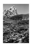 The Column of the Guides Towards the Base Camp Photographic Print