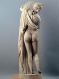 Venus Callipygian, Kallipygos, 1st Century, Marble, Full Relief Photographic Print by Unknown Artist
