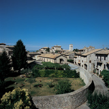 View of Assisi From the Roman Amphitheater Photographic Print by Unknown Artist