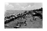 People at the Beach Photographic Print