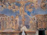 The Crucifixion Fotografisk tryk af Cimabue