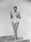Rosemary Clooney Wearing a Costume Photographic Print