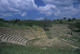 Greek Theatre, Greek Architecture, 3rd Century A.C. Photographic Print by Architettura greca
