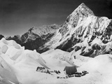 The Camp 2 of the Swiss Expedition Photographic Print
