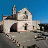 Basilica of Santa Chiara in Assisi, 1257, 13th Century Photographic Print by Unknown Artist