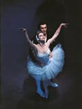 Maya Plisetskaya and Nikolai Fadeyechev in 'Swan Lake' Photographic Print