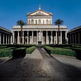 Basilica of San Paolo Fuori Le Mura, Rome Photographic Print by Belli Pasquale