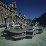 Moor Fountain Photographic Print by , Gian Lorenzo Bernini