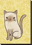 Fancy Cat Stretched Canvas Print by  My Zoetrope