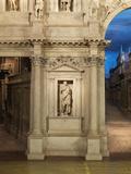 Teatro Olimpico (Olympic Theatre) Photographic Print by Andrea di Pietro (Palladio)