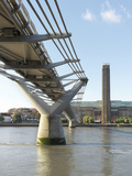 Millennium Bridge E Tate Modern Photographic Print by Ove Arup and Partners