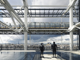 Pompidou Center in Paris Photographic Print by Ove Arup and Partners