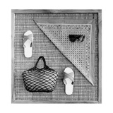 Seaside Holidays Accessories Photographic Print