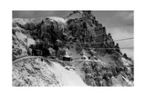 Military Camps on the Pasubio Photographic Print