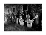 Military Laundry in Ceggia Photographic Print