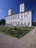 Borghese Little Villa Photographic Print by Flamino Ponzo