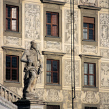 Statue of Cosimo I Photographic Print by Francavilla Pietro