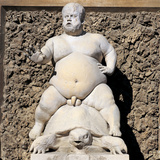 Bacchus Fountain Photographic Print by  Cioli
