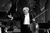 Slava Rostropovich Thanking the Public Photographic Print