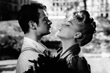 Serge Reggiani and Simone Signoret in Casque D'or Photographic Print