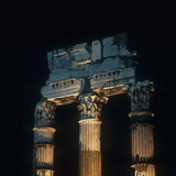 Roman Architecture, Julius Caesar Forum, 54, 1st Century A.C. Photographic Print by Architettura romana