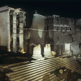 Roman Architecture, Augustus Forum, 2nd Century A.C. Photographic Print by Architettura romana