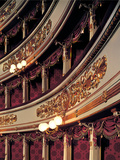 Views of the La Scala Theater After Its Restoration in 2004 Photographic Print by from Piermarini Giuseppe