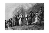 Some Women on Fatigue Duty, Carrying Gravel for the Construction of the Roads Photographic Print